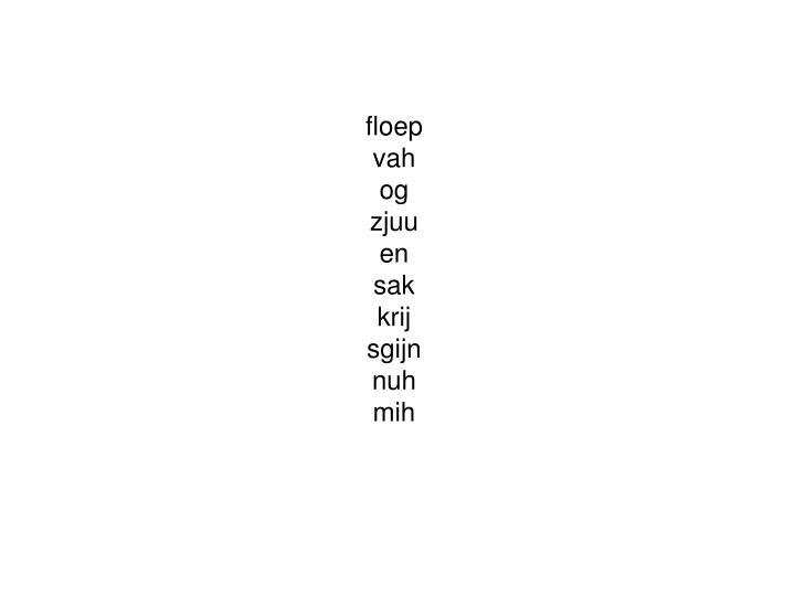 floep