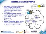 ieee802 21 enabled pmipv6