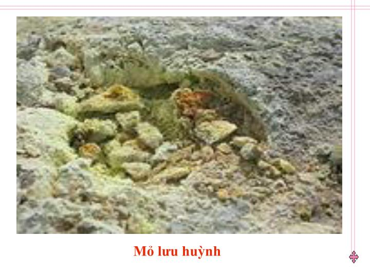 Mỏ lưu huỳnh