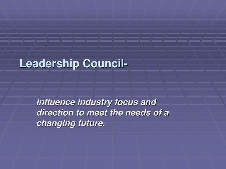 Leadership Council-