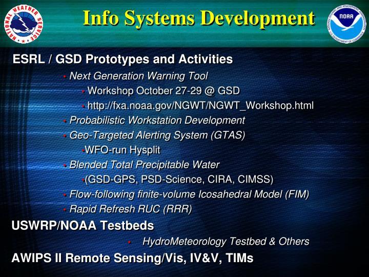 Info Systems Development
