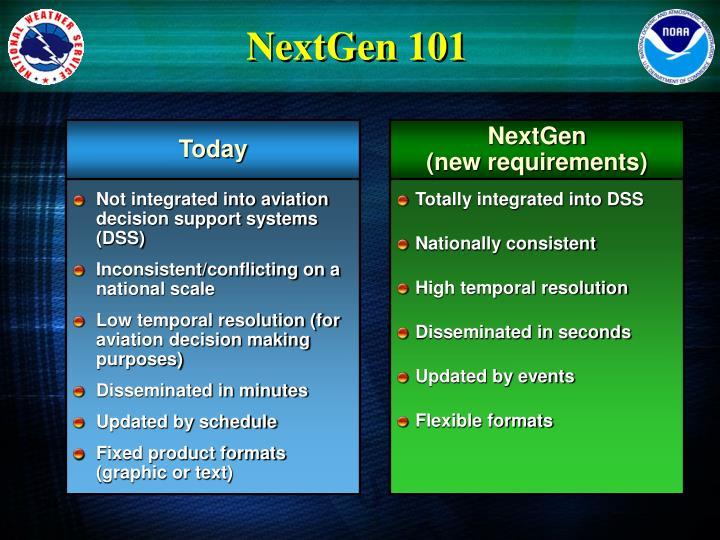 NextGen 101