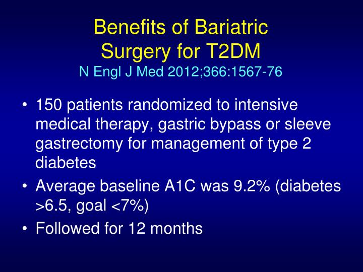 Benefits of Bariatric