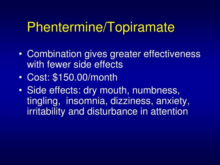 Phentermine/Topiramate