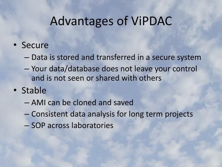 Advantages of ViPDAC