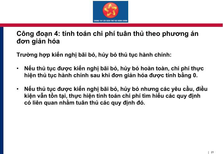 Cng on 4: tnh ton chi ph tun th theo phng n n gin ha