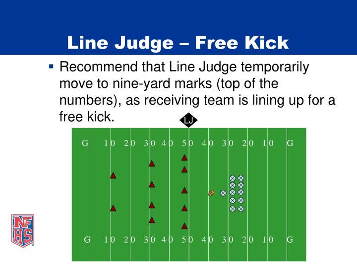 Line Judge – Free Kick