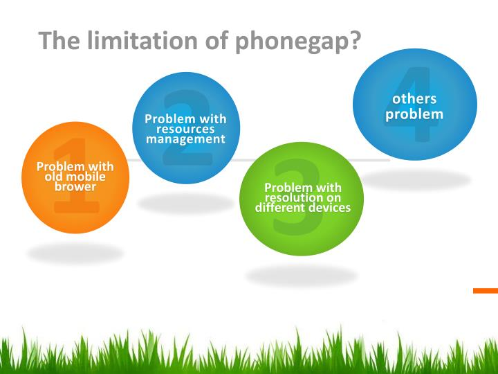 The limitation of phonegap?