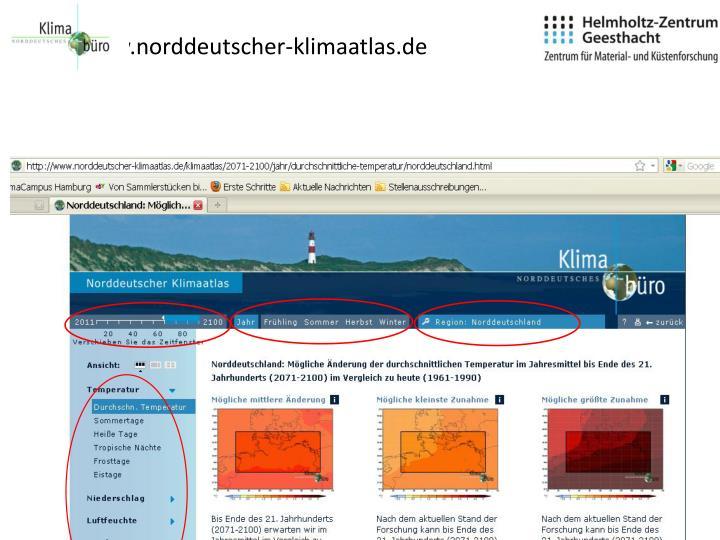 www.norddeutscher-klimaatlas.de