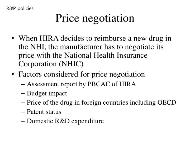 R&P policies