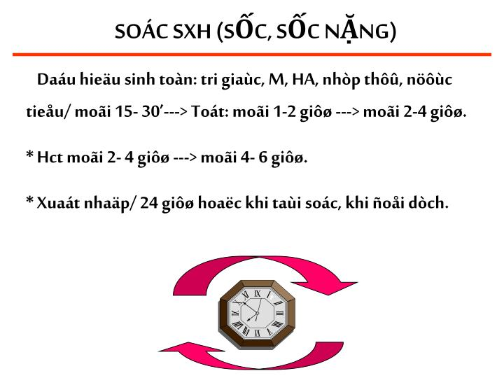 SOÁC SXH (SỐC, SỐC NẶNG)