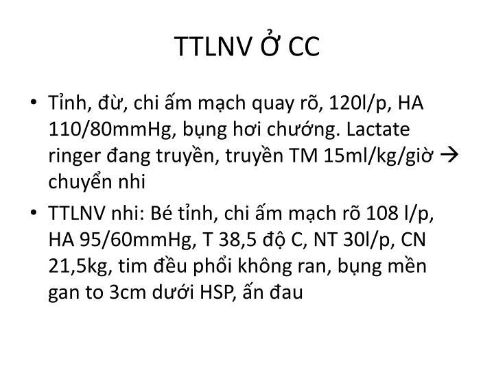 TTLNV Ở CC