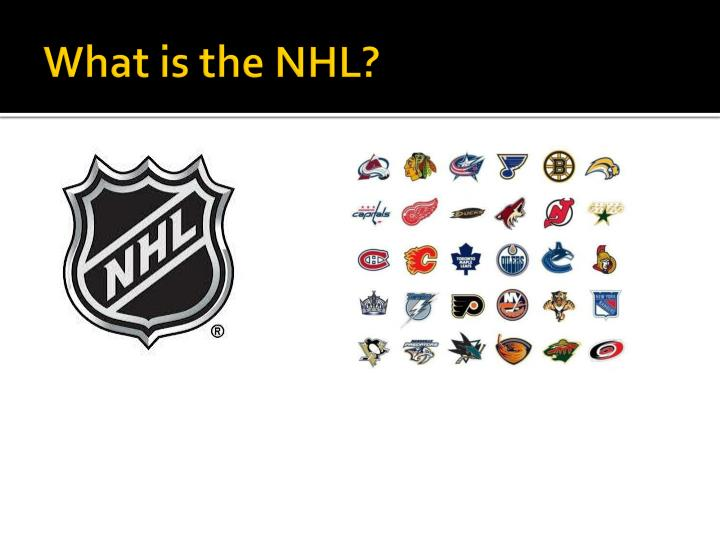 What is the nhl