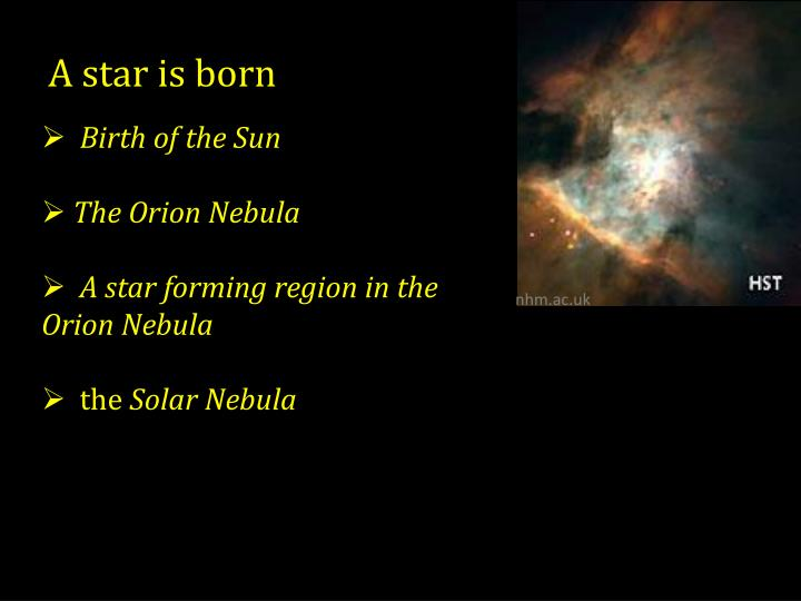 a solar system is born - photo #49