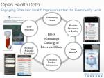 open health data
