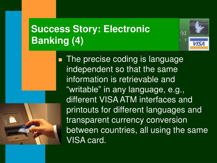 Success Story: Electronic Banking (4)