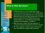 what is web services