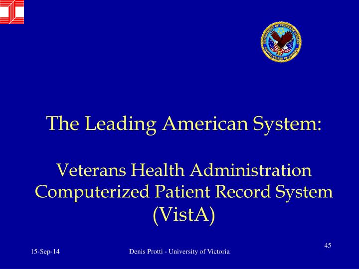 The Leading American System: