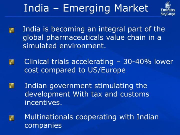 India – Emerging Market