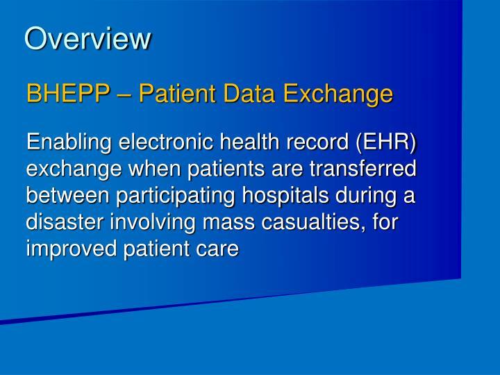 BHEPP – Patient