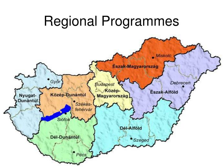 Regional Programmes