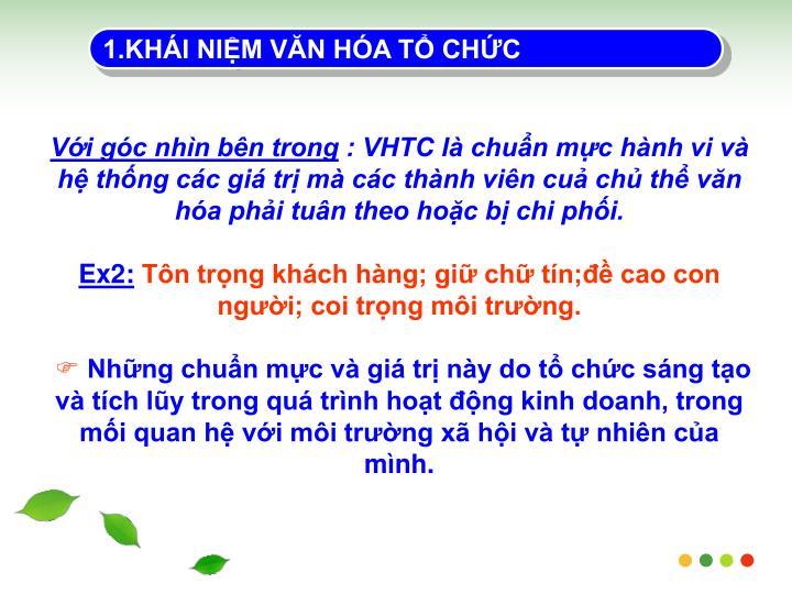1.KHI NIM VN HA T CHC