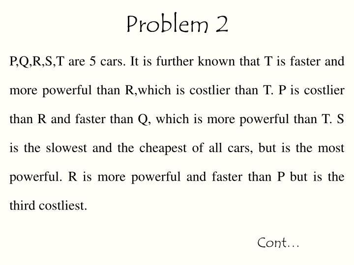Problem 2