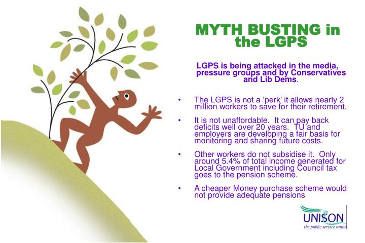 MYTH BUSTING in the LGPS