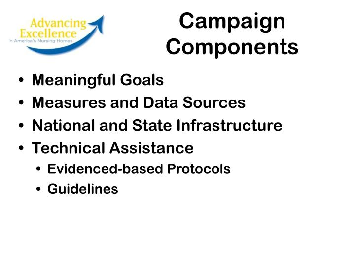 Campaign Components