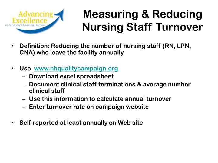 Measuring & Reducing
