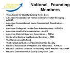 national founding members