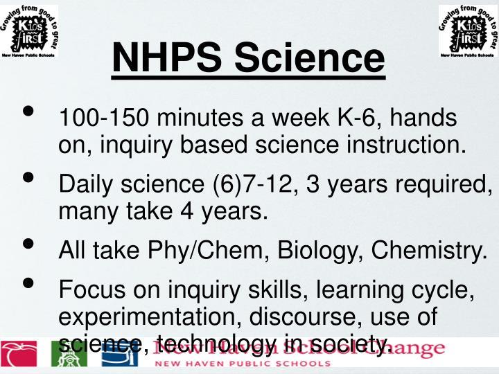 NHPS Science