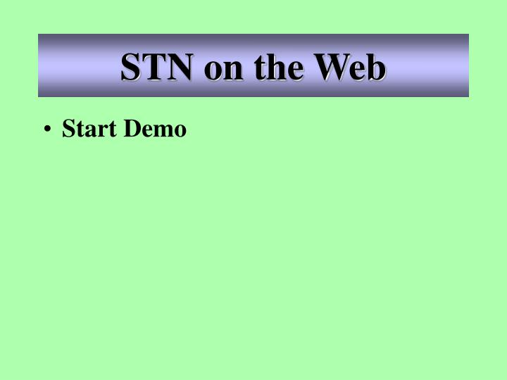 STN on the Web
