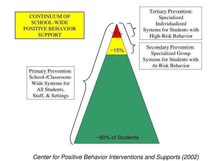 Center for Positive Behavior Interventions and Supports (2002)