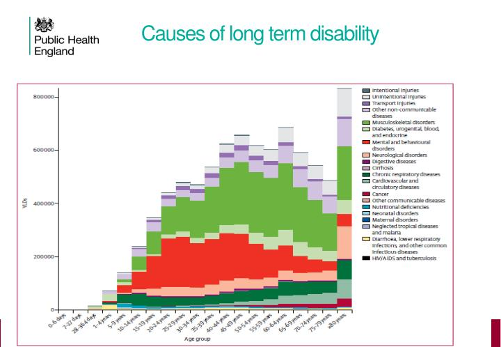 Causes of long term disability