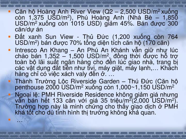 Cn h Hoang Anh River View (Q2  2,500 USD/m