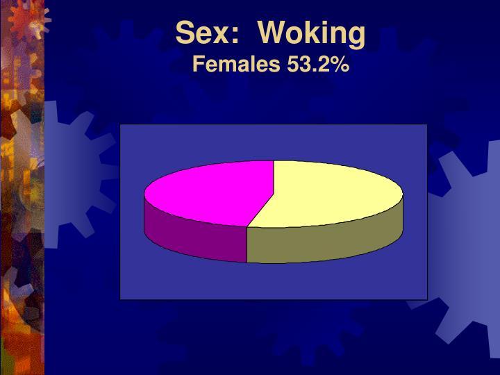 Sex:  Woking
