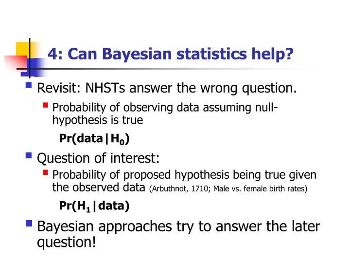 Statistics help