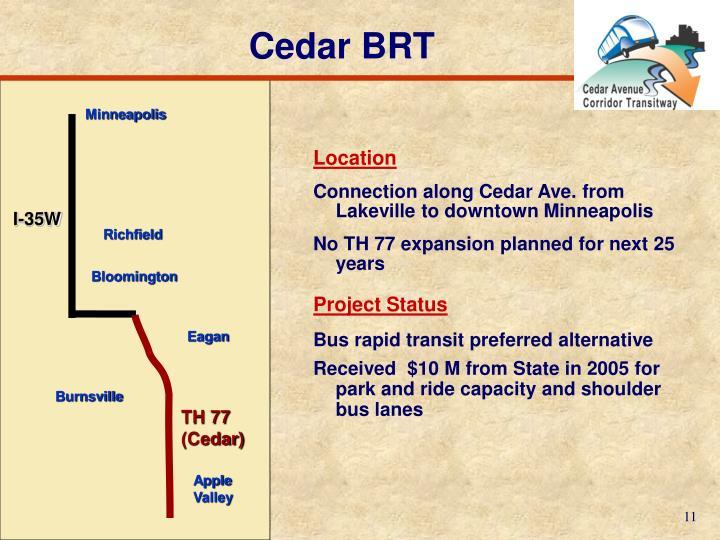 Cedar BRT