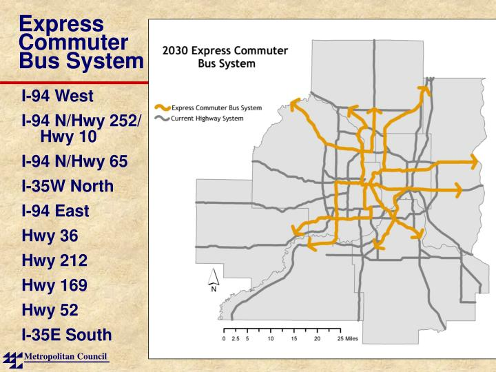 Express Commuter Bus System
