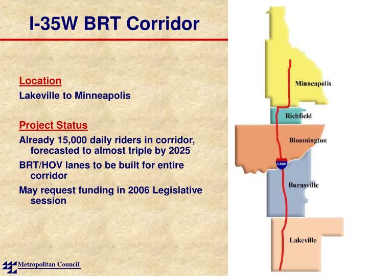 I-35W BRT Corridor