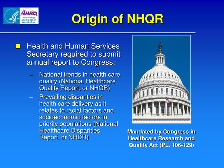 Origin of NHQR