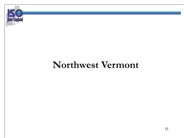 Northwest Vermont