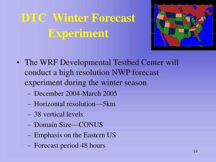 DTC  Winter Forecast