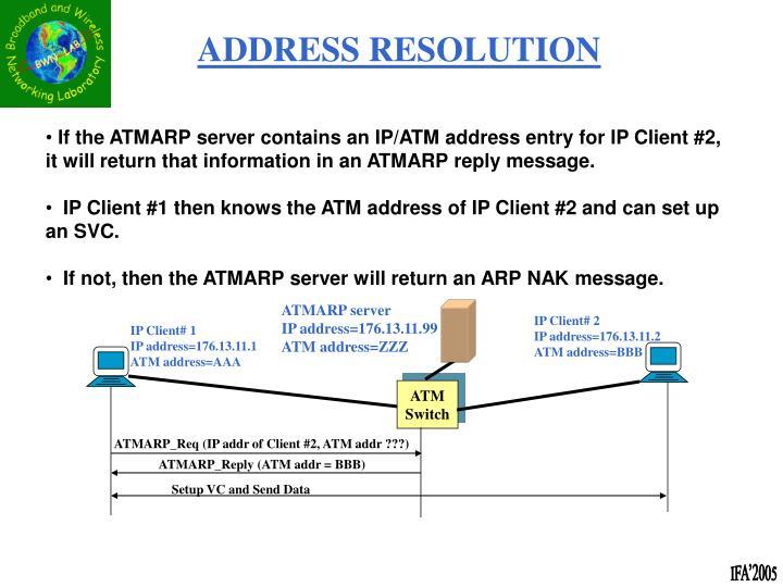 ATMARP server
