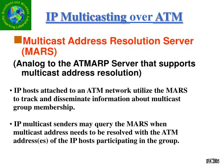Multicast Address Resolution Server (MARS)