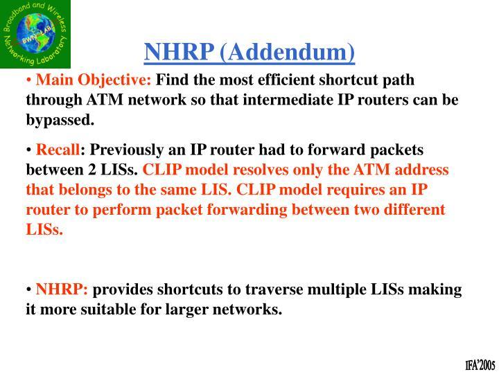 NHRP (Addendum)