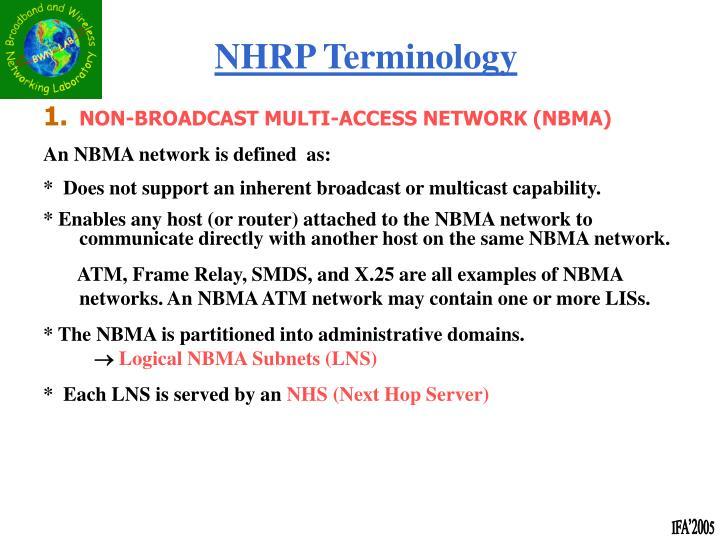 NHRP Terminology