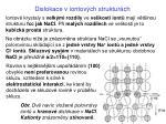 dislokace v iontov ch struktur ch