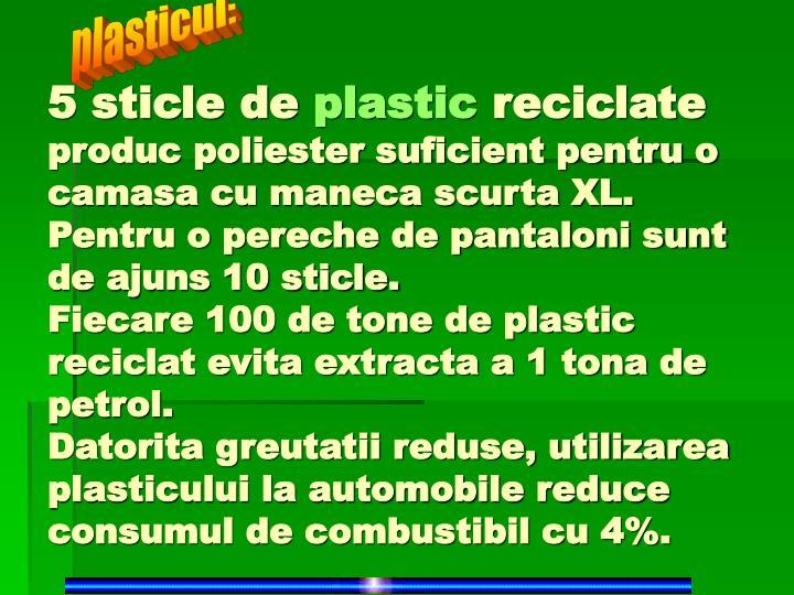 plasticul: